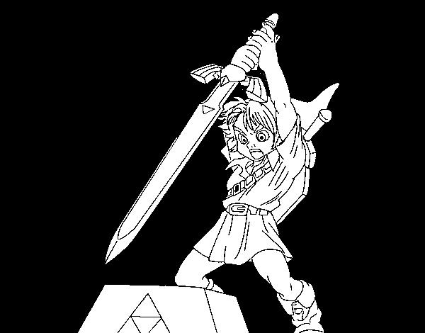 Disegno Di Zelda Da Colorare Acolorecom