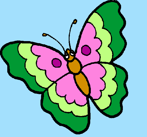 Disegno Farfalla Colorato Da Utente Non Registrato Il 27 Di Luglio