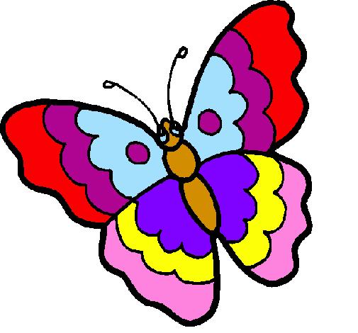 Disegno Farfalla Colorato Da Utente Non Registrato Il 19 Di Agosto