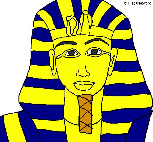 Disegno Di Un Faraone.Disegno Tutankamon Colorato Da Utente Non Registrato Il 19 Di