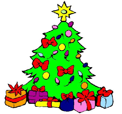 Disegni Alberelli Di Natale.Disegno Albero Di Natale Colorato Da Utente Non Registrato