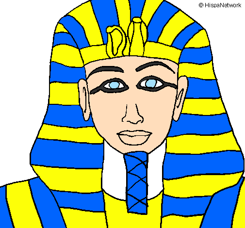 Disegno Di Un Faraone.Disegno Tutankamon Colorato Da Utente Non Registrato Il 16 Di