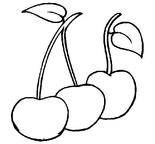 Disegno ciliegie colorato da utente non registrato il 02 for Disegni da colorare ciliegie
