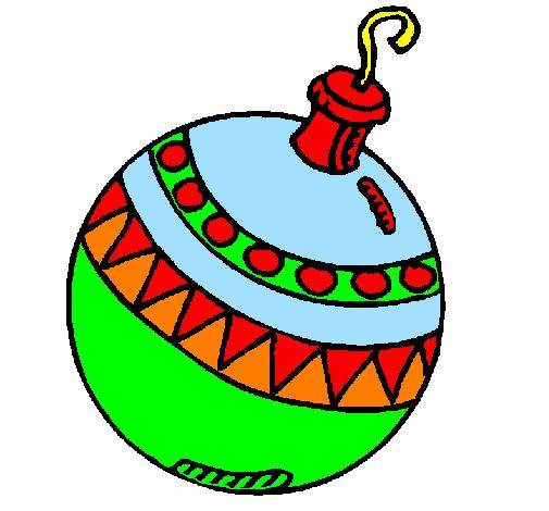 Disegni Di Palline Di Natale.Disegno Palline Di Natale Colorato Da Utente Non Registrato Il 28 Di
