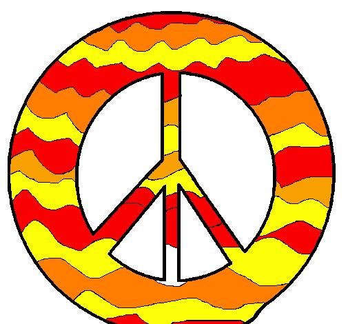 Disegno Simbolo Della Pace Colorato Da Utente Non Registrato Il 08