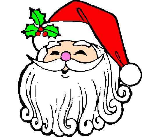 Disegno Faccione Babbo Natale Colorato Da Utente Non Registrato Il