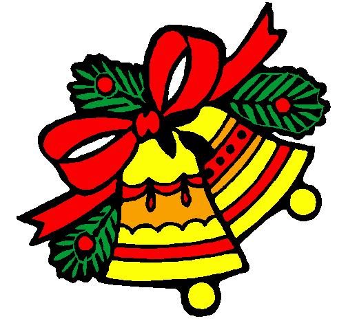 Immagini Di Natale Colorate.Disegno Campane Di Natale Colorato Da Utente Non Registrato