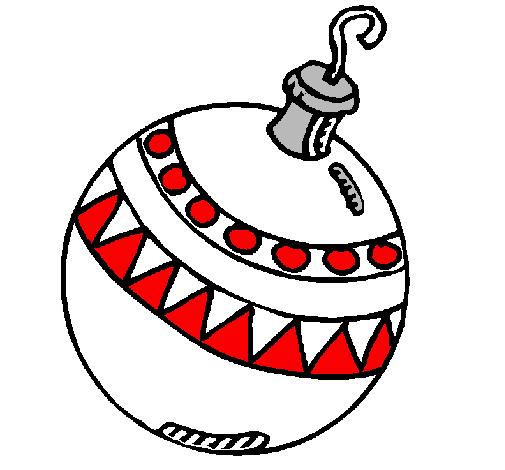 Disegni Di Palline Di Natale.Disegno Palline Di Natale Colorato Da Utente Non Registrato Il 24 Di