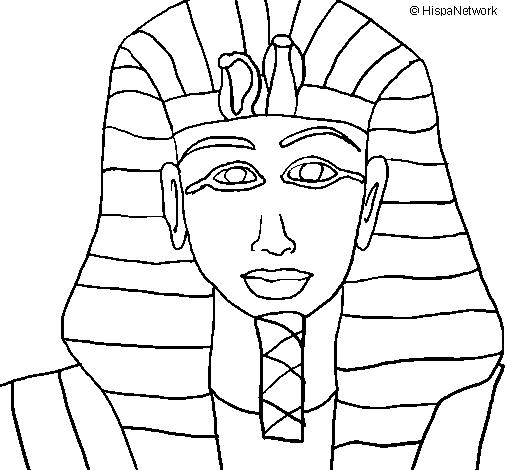 Disegno Tutankamon Colorato Da Utente Non Registrato Il 13 Di Febbraio Del 2009
