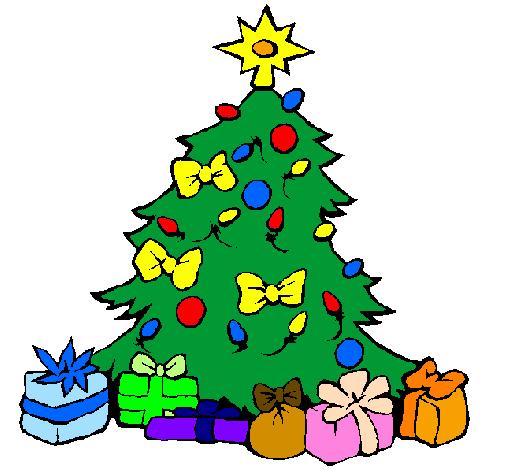 Albero Di Natale Disegno.Disegno Albero Di Natale Colorato Da Utente Non Registrato