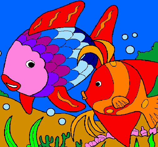 Disegno Pesci Colorato Da Utente Non Registrato Il 03 Di Aprile Del 2011