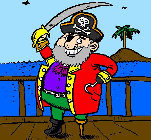 Disegno Pirata A Bordo Colorato Da Utente Non Registrato Il 14 Di