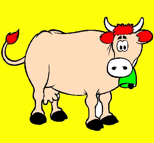 Disegno Mucca Da Latte Colorato Da Utente Non Registrato
