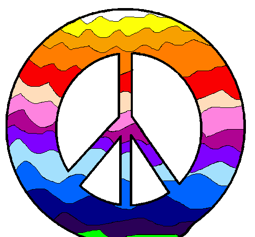 Disegno Simbolo Della Pace Colorato Da Utente Non Registrato Il 02