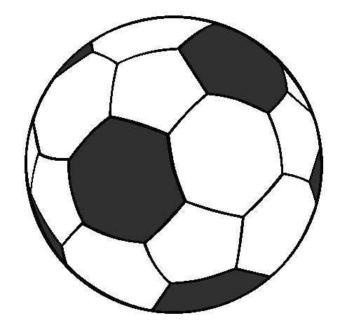 Disegno Pallone Da Colorare.Disegno Pallone Da Calcio Ii Colorato Da Utente Non Registrato Il