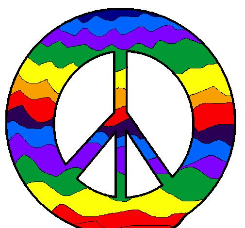 Disegno Simbolo Della Pace Colorato Da Utente Non Registrato Il 05