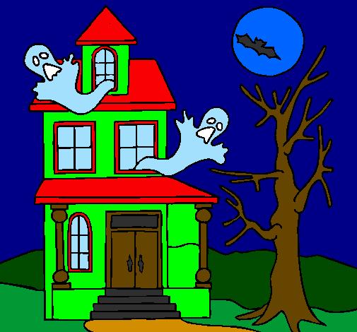 Disegno Casa Del Terrore Colorato Da Utente Non Registrato Il 05