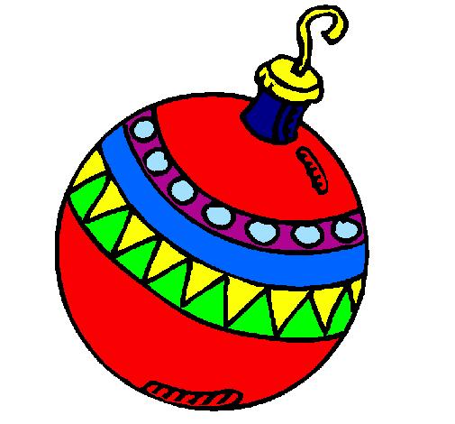 Disegni Di Palline Di Natale.Disegno Palline Di Natale Colorato Da Utente Non Registrato Il 02 Di