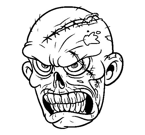 Disegno Zombie Colorato Da Utente Non Registrato Il 20 Di Novembre