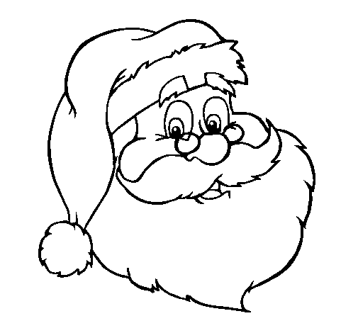 Immagini Viso Babbo Natale.Disegno Faccia Santa Colorato Da Utente Non Registrato Il 04