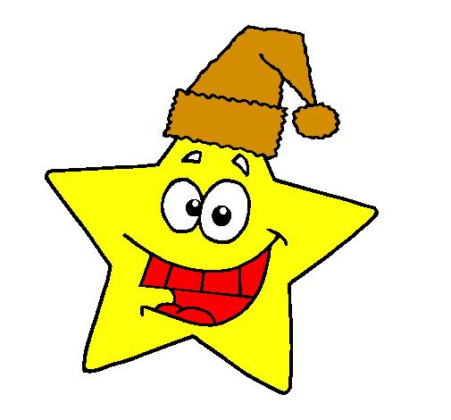 Stella Stellina Di Natale.Disegno Stella Di Natale Colorato Da Utente Non Registrato Il 30 Di