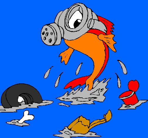 Disegno Inquinamento Marino Colorato Da Utente Non Registrato Il 31