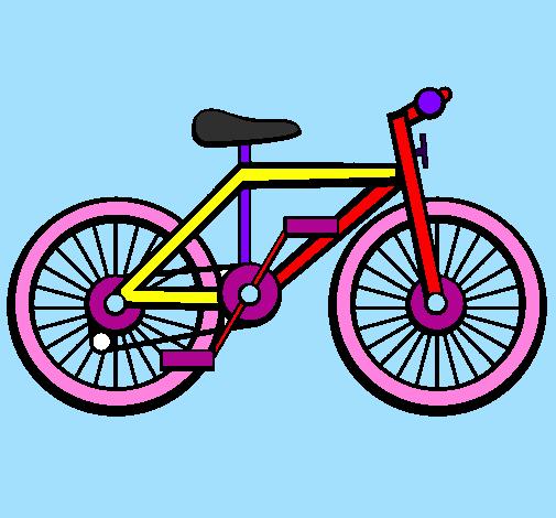 Disegno Bicicletta Colorato Da Utente Non Registrato Il 13 Di