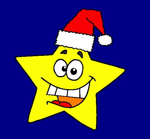 Stella Stellina Di Natale.Disegno Stella Di Natale Colorato Da Utente Non Registrato Il 09 Di