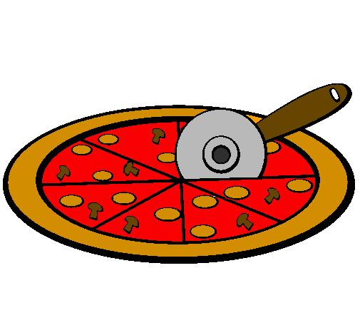 Disegno Pizza Colorato Da Utente Non Registrato Il 22 Di Gennaio Del