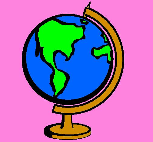 Disegno Mappamondo Ii Colorato Da Utente Non Registrato Il 18 Di