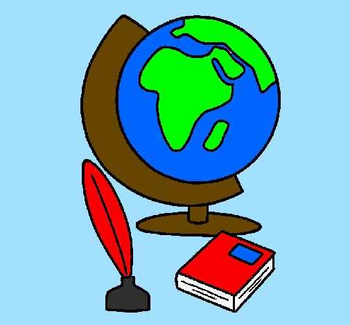 Disegno Mappamondo Colorato Da Utente Non Registrato Il 20 Di