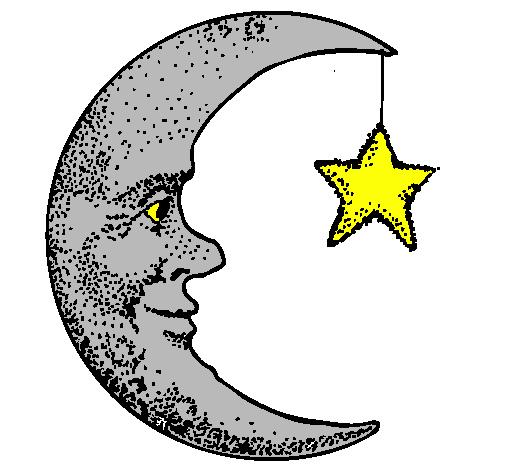 Disegni luna e stelle migliore pagina da colorare for Disegni inazuma eleven da stampare