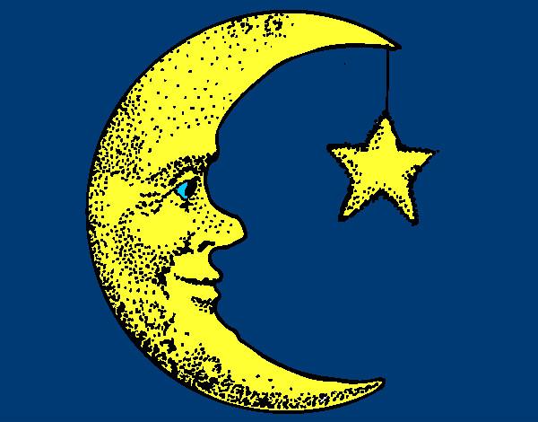 Risultati immagini per luna e stelle