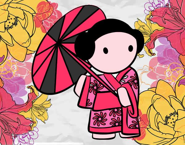 abbastanza Disegno La Cinese colorato da -asiia il 29 di Dicembre del 2012 HX41