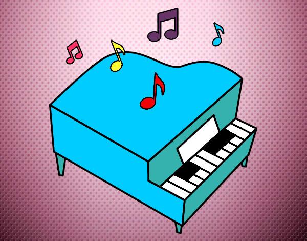 Disegni Di Strumenti Musicali Da Colorare Acolorecom