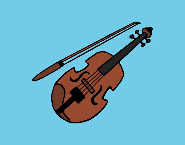 Disegni Di Violini Da Colorare Acolorecom