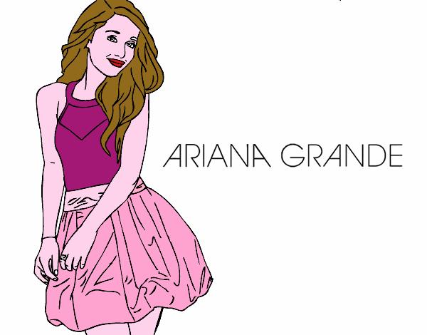 Disegno Ariana Grande Colorato Da Utente Non Registrato Il 25 Di