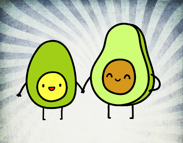 Uovo e avocado