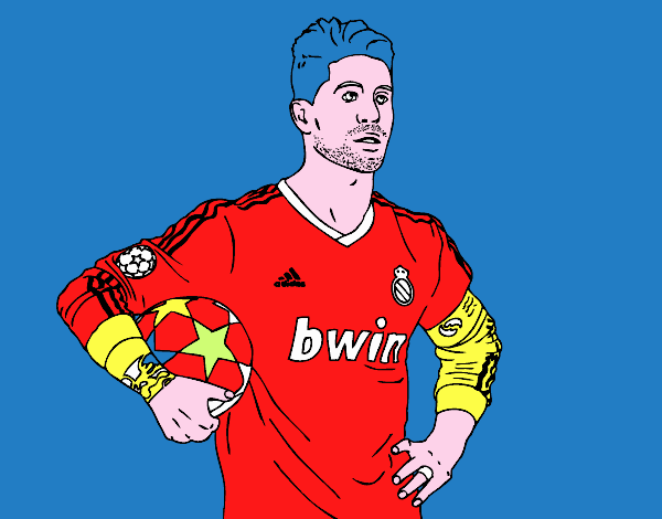 Sergio Ramos del Real Madrid