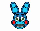 Faccia di Toy Bonni di Five Nights at Freddy's